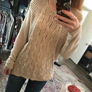 NWOT Design History Detailed knit sweater